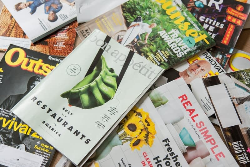 magazines ads